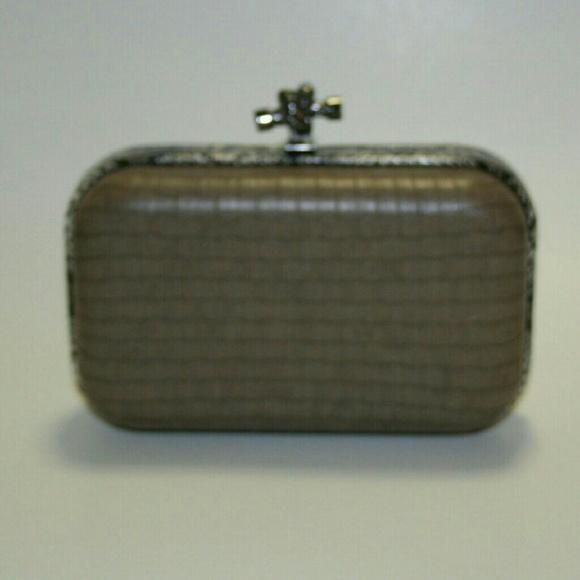 Mystique Boutique Handbags - Balenciaga Style Box Clutch by Mystique from Macys